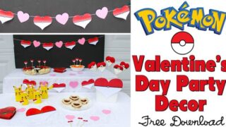 Pokémon Valentine's Day Party Decorations