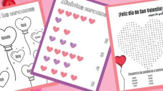 Free Valentine's Day Activities in Spanish for Kids