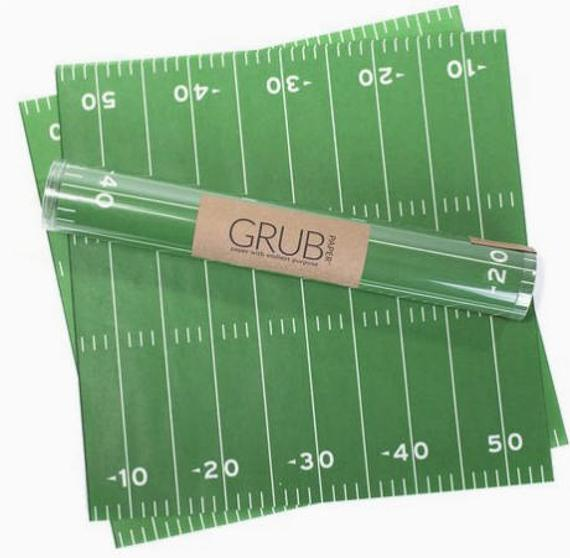 Football Tray Liners and Food Wrappers