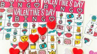 Printable Valentine Bingo Cards