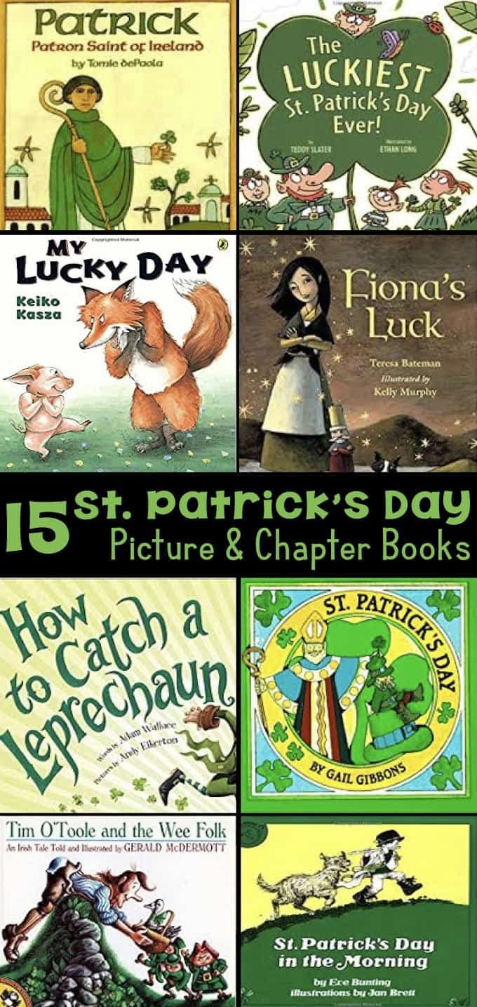 15 St. Patrick's Day Picture & Chapter Books