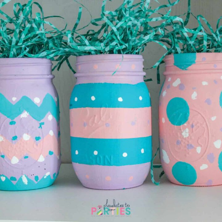 How to Make Easter Egg Mason Jars