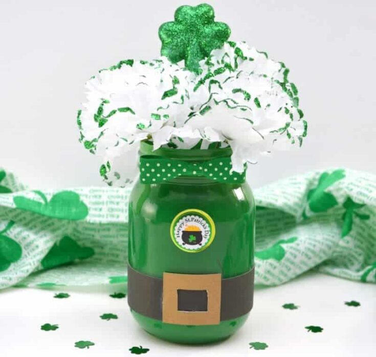 Leprechaun Mason Jar St. Patrick's Day Decoration