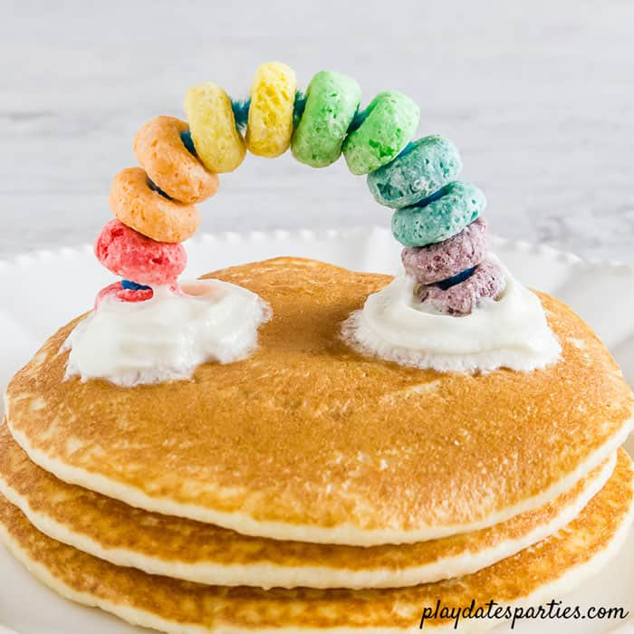 Rainbow Cupcake and Pancake Toppers