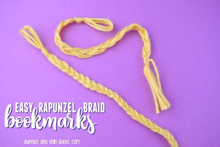 Rapunzel Braid Bookmark