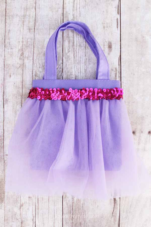 Disney Princess Tutu Favor Bags - Laura's Crafty Life
