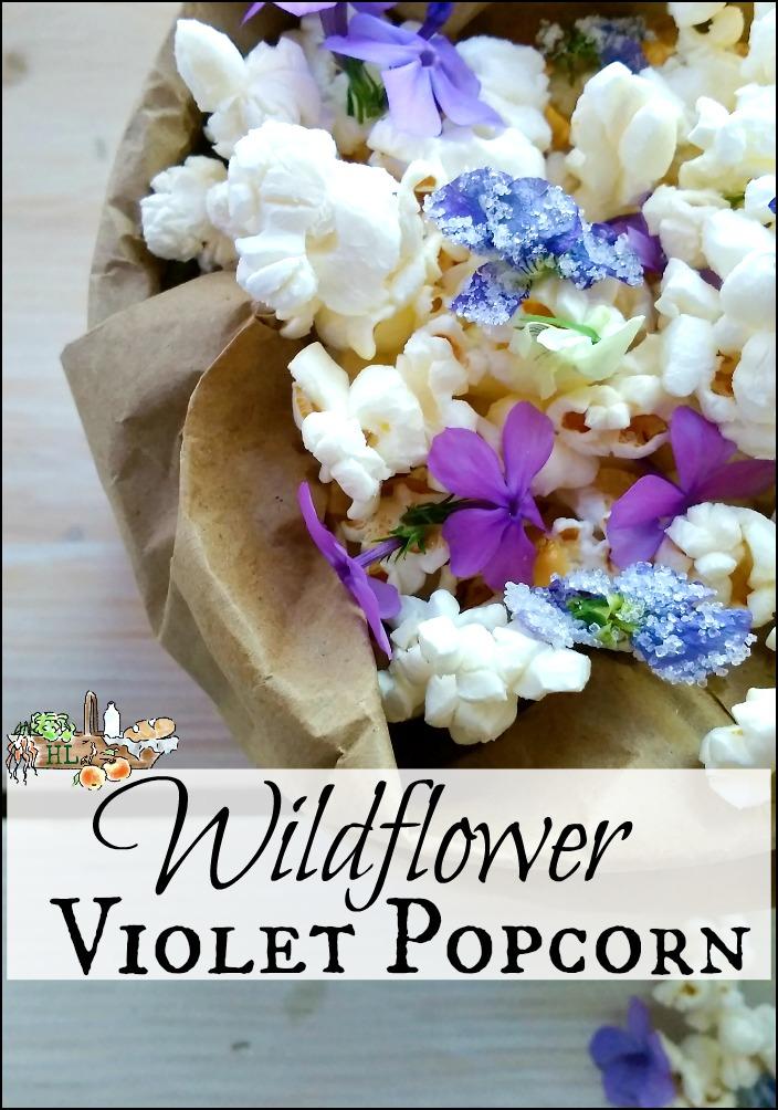Wildflower Violet Popcorn