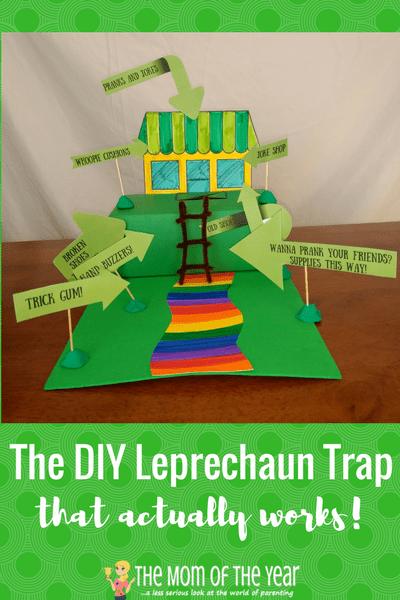 Make a Leprechaun Trap Together