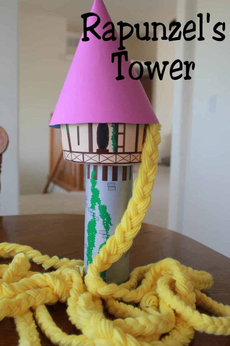 Rapunzel's Tower and Printable