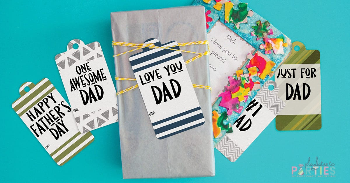 printable father's day gift tags