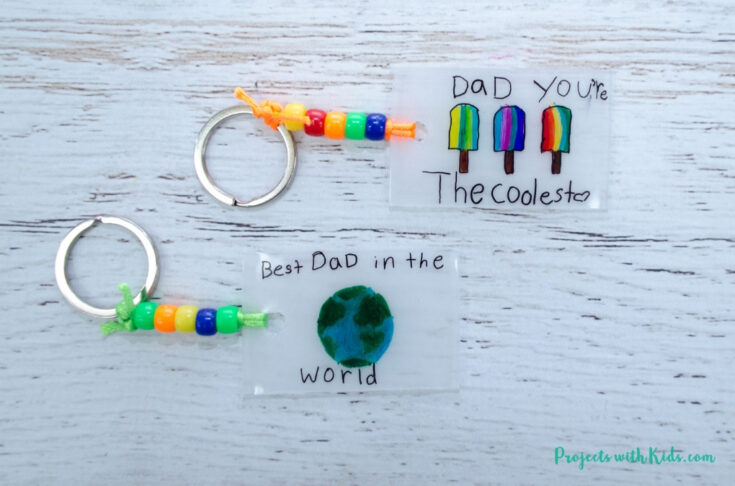 Easy Father's Day Keychain