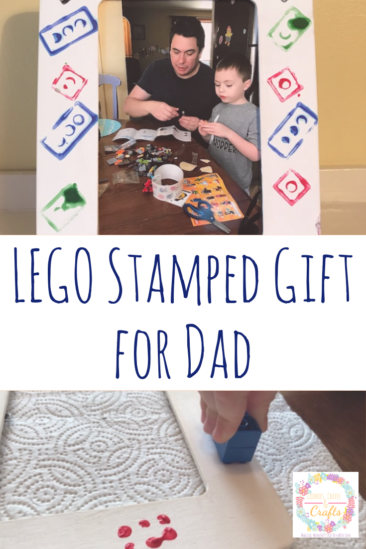LEGO Stamped Gift for Dad