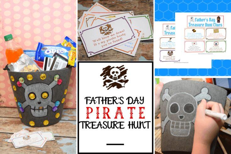 Father's Day Pirate Treasure Hunt