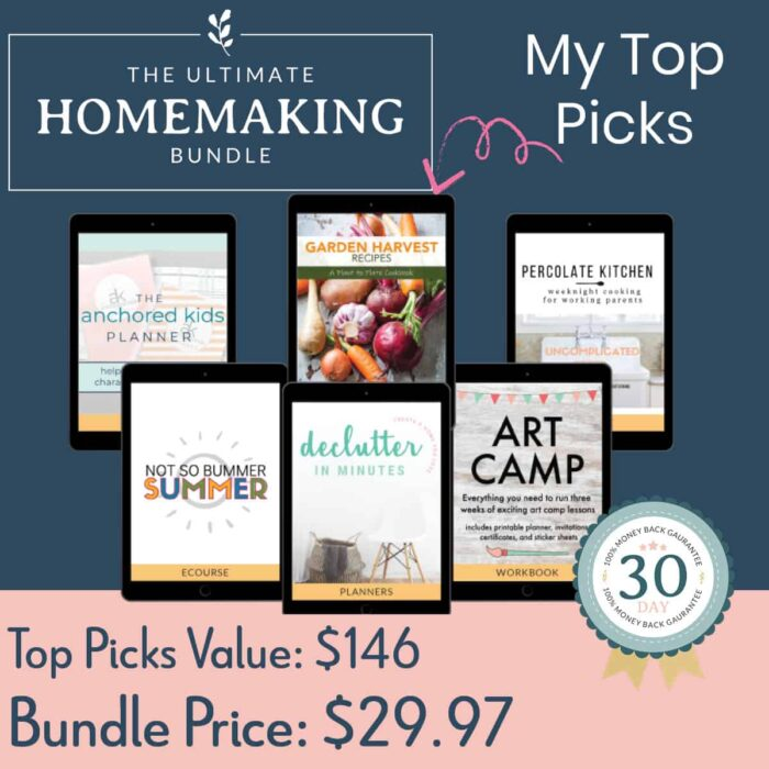 My top picks from the Ultimate Homemaking bundle worth $146